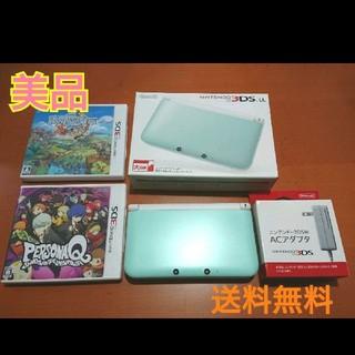 ニンテンドー3DS - 3DSLL 本体 メモリーカード 充電器 ペルソナ ファンタジーライフ