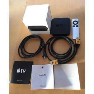 Apple - AppleTV アップルテレビ 第3世代 美品 ケーブル付き