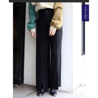 ムルーア(MURUA)のムルーア MURUA ワイドパンツ 美品(カジュアルパンツ)