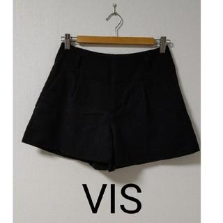 ViS - VIS  黒  ショートパンツ
