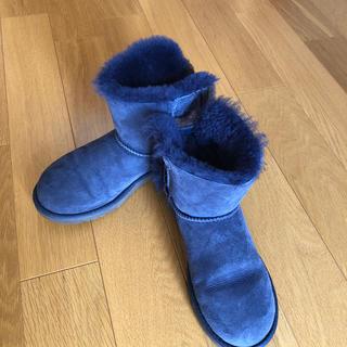 UGG アグ ブーツ ブルー系 23㎝