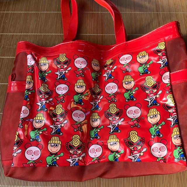 HYSTERIC MINI(ヒステリックミニ)のヒステリックミニ ビニールトートバッグ レディースのバッグ(トートバッグ)の商品写真