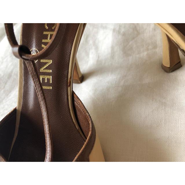 CHANEL(シャネル)のCHANEL VINTAGE SANDALS レディースの靴/シューズ(サンダル)の商品写真