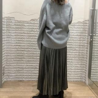 JEANASIS - グリッタープリーツロングスカート