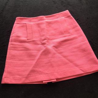 ザラ(ZARA)のピンク♡スカート(ミニスカート)