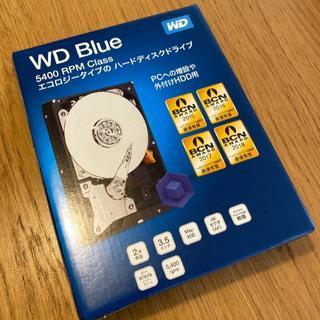 WesternDigital WD60EZAZ-RT 6TB HDD 新品未開封(PCパーツ)