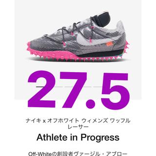 NIKE - Nike off-white ワッフルレーサー 27.5