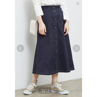 ロペピクニック(Rope' Picnic)のロペピクニック デニムカラー 美品(ロングスカート)