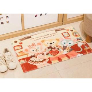 Disney - 日本未発売 ステラルー   ダッフィー    マット キッチンマット 玄関マット