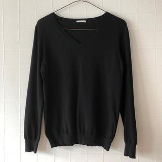 GU - 【GU】Vネックセーター M