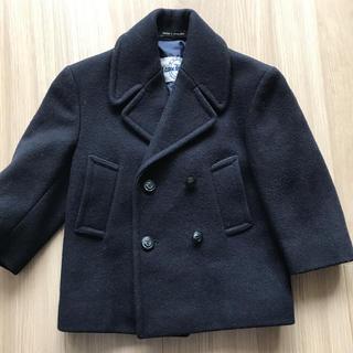ポロラルフローレン(POLO RALPH LAUREN)の美品 ピーコート ネイビー 紺 サイズ4 英国製(コート)