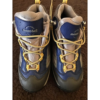 モンベル(mont bell)のmont-bell  22cm 登山靴(アウトドアシューズ)