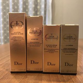ディオール(Dior)のプレステージ スキンケア(サンプル/トライアルキット)