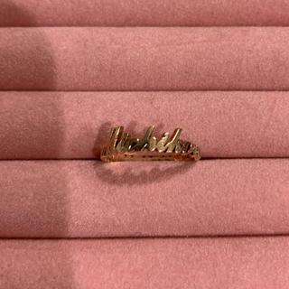 ヨンドシー(4℃)のK10 ピンクゴールド リング(リング(指輪))