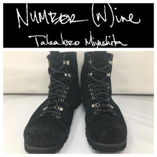 NUMBER (N)INE - Number(n)ine ナンバーナイン 09AWマウンテンブーツ トレッキング