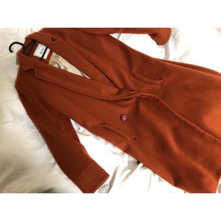 Lily Brown - リリーブラウン ロングコート くすみオレンジ
