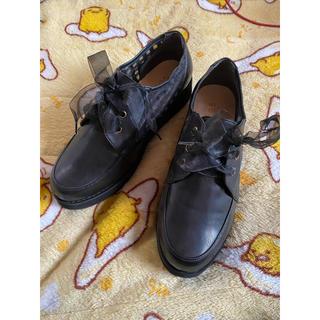 アクシーズファム(axes femme)のaxes femme 靴 シューズ リボン チェック(ローファー/革靴)