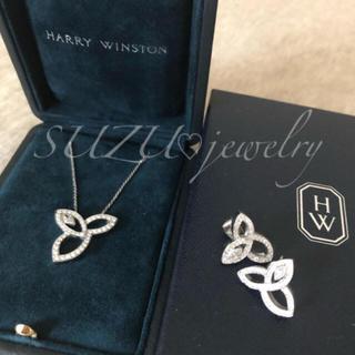 HARRY WINSTON - 有名女優❤️ 大人気のネックレス&ピアスSET❤️SONAダイヤモンド✨