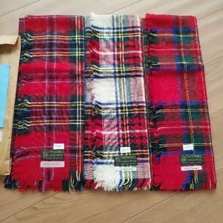 FELISSIMO - スコットランド クラシカルスカーフ3枚