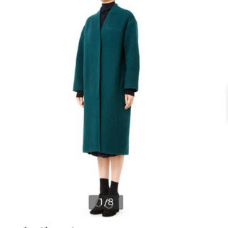 ルシェルブルー(LE CIEL BLEU)のル シェルブルー バルーンビッグコート(ロングコート)