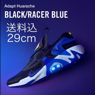 NIKE - 送料込 国内正規品 29cm NIKE ADAPT HUARACHE 黒青