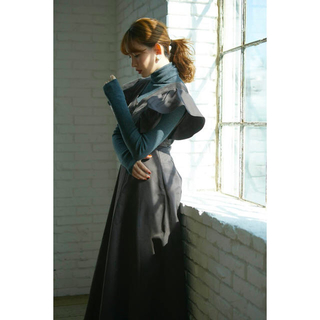 snidel - Deep V Back Long Dress Sサイズ her lip to