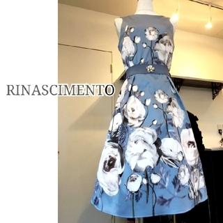 RINASCIMENTO - 【リナシメント】フラワー プリント ドレス