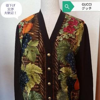 Gucci - 即決!GUCCI☆グッチ☆上質な華やかニット☆美品☆iv