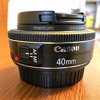 Canon - Canon 単焦点レンズ EF40mm F2.8 STM フルサイズ対応