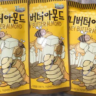 ハニーバター アーモンド 3袋 大容量