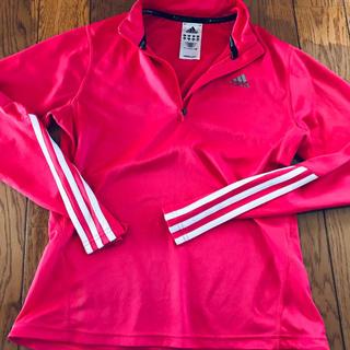 アディダス(adidas)のadidas ピンク(Tシャツ(長袖/七分))