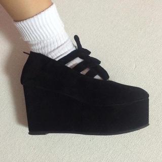 WEGO(ウィゴー)のWEGO💓ぽっくりシューズ レディースの靴/シューズ(ハイヒール