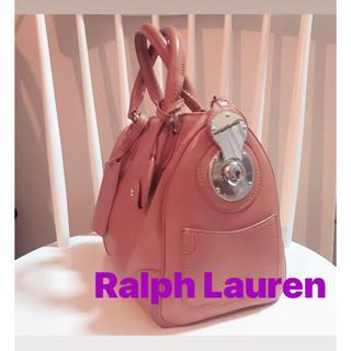 Ralph Lauren - Ralph Lauren レザー ハンドバッグ ミニボストン