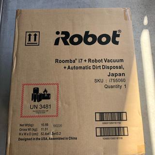 iRobot - ルンバi7+ アイロボット 最新 ロボット掃除機
