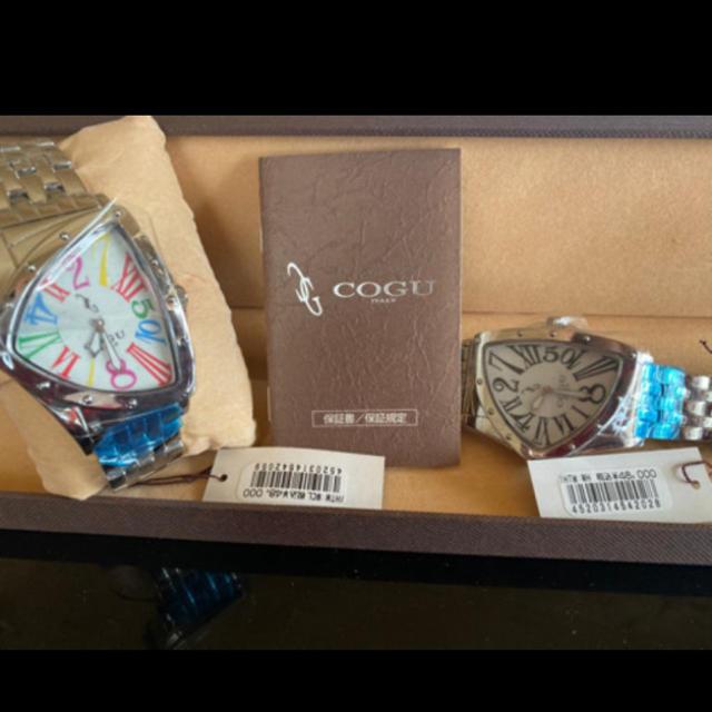 オメガ 時計 スーパー コピー Japan | COGU - 新品ブランド腕時計 セット売り ジャンピングアワー GUCCI COGU コグの通販 by MCU