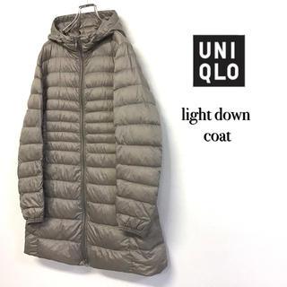 UNIQLO - 美品 UNIQLO ウルトラ ライトダウンコート W-20