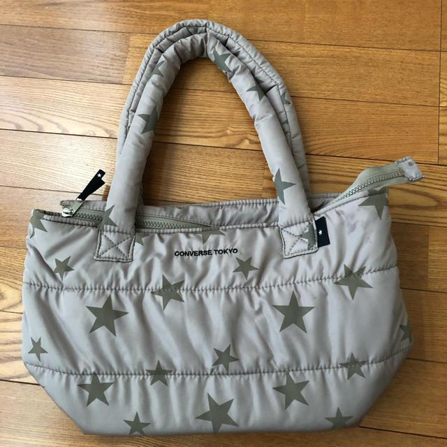 CONVERSE(コンバース)のコンバーストウキョウ 中綿 トートバッグ レディースのバッグ(トートバッグ)の商品写真
