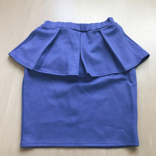 EMODA - EMODA ペプラム スカート