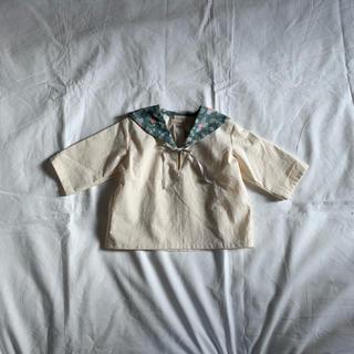 ハンドメイド セーラーシャツ