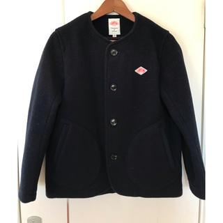DANTON☆ウールモッサ カラーレスジャケット