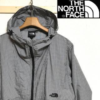 THE NORTH FACE - 美品!NORTH FACEノースフェイス ギンガムチェック マウンテンパーカー