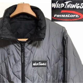WILDTHINGS - 希少!USA製!ワイルドシングス プリマロフト2WAYリバーシブル中綿ジャケット