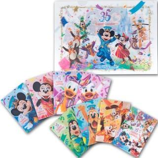 Disney - ディズニーリゾート35周年完売品・限定品★ミッキー&フレンズ 実写クリアファイル