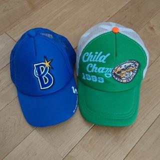 ヨコハマディーエヌエーベイスターズ(横浜DeNAベイスターズ)のキャップ 2個セット ベイスターズ他(帽子)