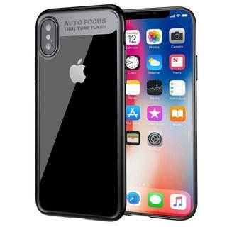 Baseus iPhone X/XS TPU ブラックカバーケース