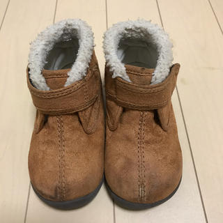 ムジルシリョウヒン(MUJI (無印良品))の無印良品 キッズボアブーツ 14cm(ブーツ)
