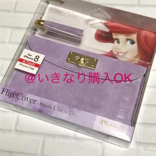 Disney - iJacket iPhone7/8ケース★新品★ディズニー アリエル★手帳型