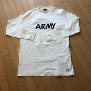 アルファ(alpha)のARMYプリントロンT メンズ Right-on(Tシャツ/カットソー(七分/長袖))