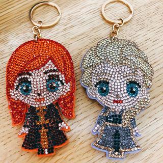 Disney - アナと雪の女王2 キラキラチャーム アナ&エルサ