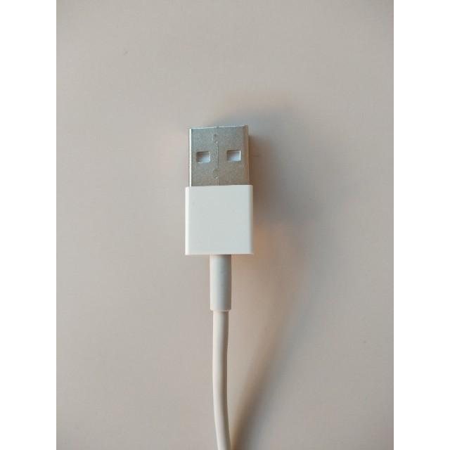 Apple(アップル)の1本 iPhone充電器 ライトニングケーブル 純正品質 送料無料  スマホ/家電/カメラのスマートフォン/携帯電話(バッテリー/充電器)の商品写真